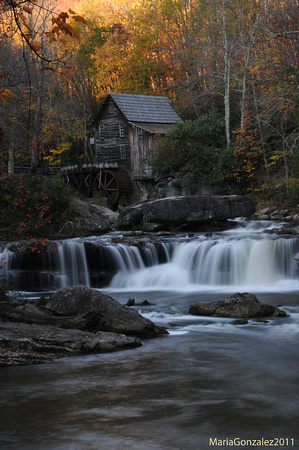 Glade Creek Grist Mill at Babcok State Park WV